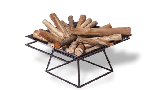 Fireplaces by NDT.design seen at NDT.design Studio, Delray Beach - FirePit