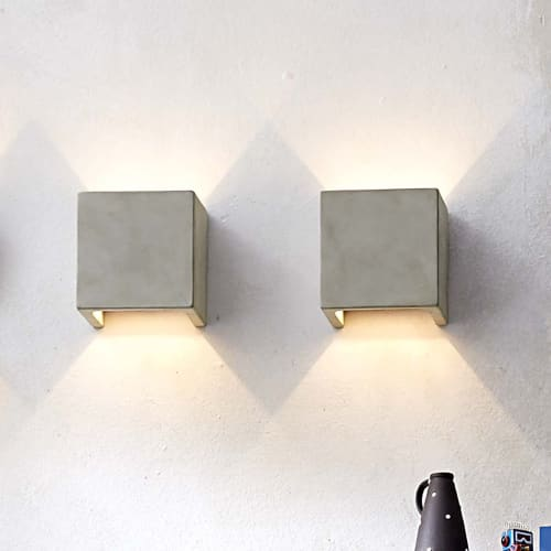 Sconces by SEED Design USA - CASTLE Wall Sconce S