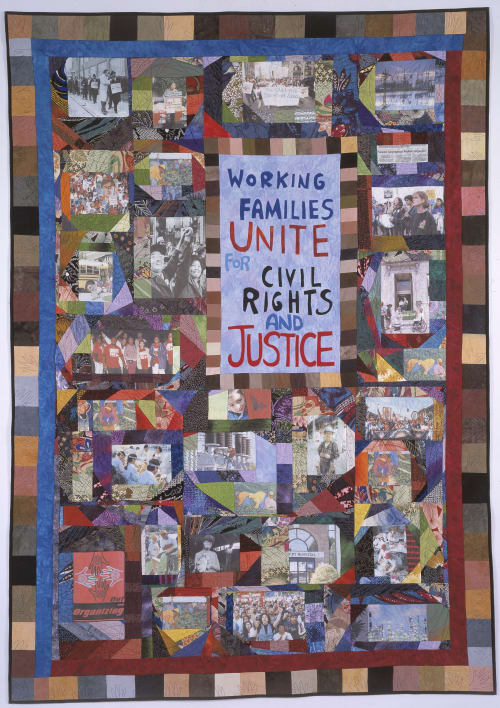 Art & Wall Decor by Adrienne Yorinks seen at AFL-CIO National Headquarters, Washington DC, Washington - AFL-CIO: Thirteen Million Voices Strong