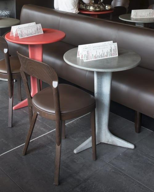 Chairs by Studio Robert Stadler at Corso Quai de Seine, Paris - Thonet Chair 107