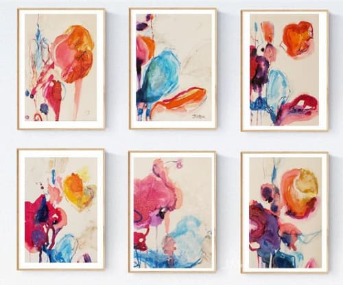 Paintings by Judy Mintze Original Artwork seen at Fishers, Fishers - Abstract Series Small Artwork