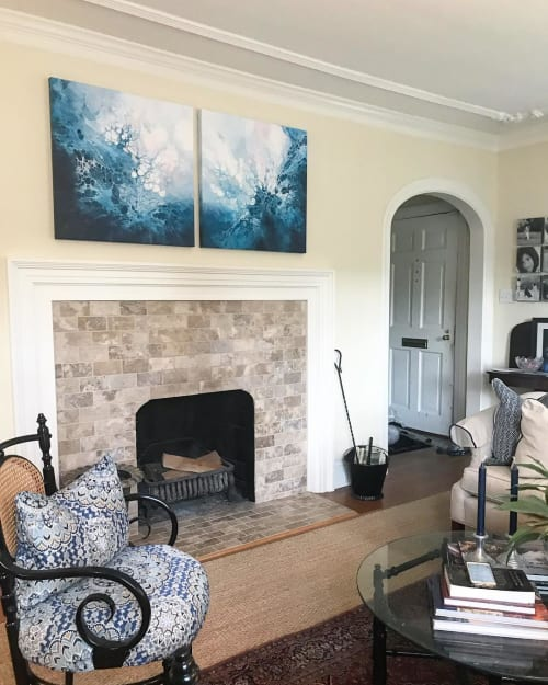 Paintings by Shaylen Amanda Broughton at Private Residence, Richmond - Custom Artwork