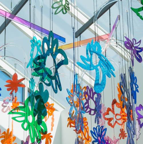 Sculptures by Gabriela Noelle seen at Nashville, Nashville - Radiating Positivity