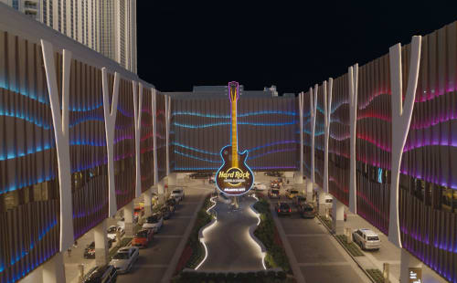 Lighting by Digital Ambiance seen at Atlantic City, Atlantic City - Hard Rock Hotel & Casino