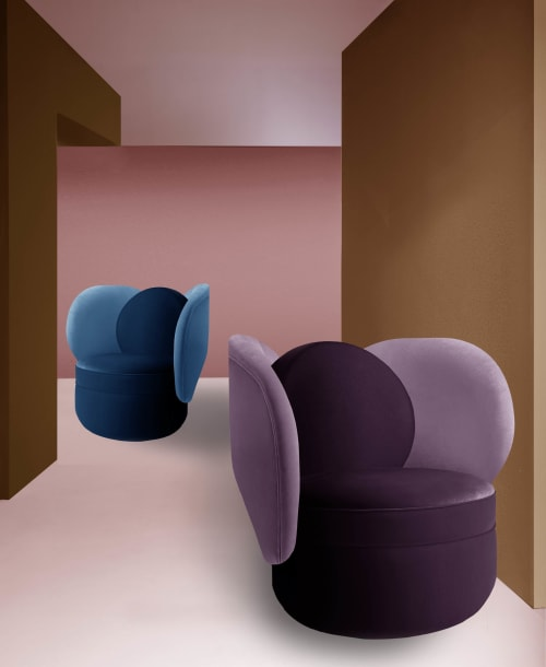 Chairs by Dovain Studio seen at Private Residence, New York - Debi armchair