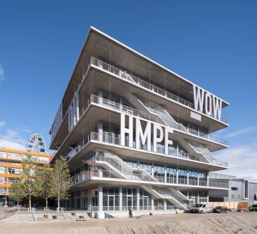 Architecture by MVRDV seen at body + soul Center WERK12, München - WERK12