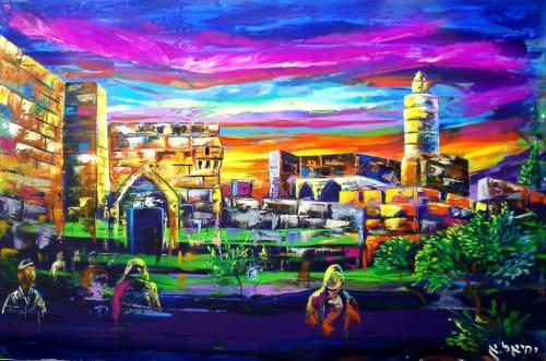 Yehiel Attias - Art and Signage