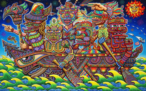 Chris Dyer - Street Murals and Murals