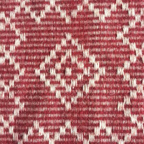 Rugs by Sunday / Monday by Nisha Mirani and Brendan Kramer seen at Private Residence, New York - Tic Tac Toe Rug
