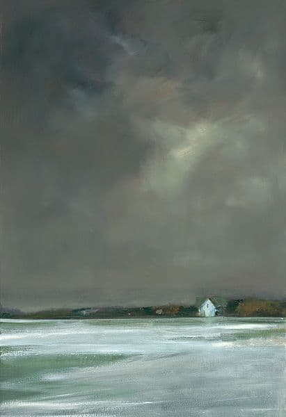 "Art & Wall Decor by YJ Contemporary seen at East Greenwich, East Greenwich - Anne Packard ""Winter's Night"""