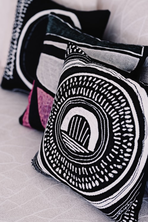 """Spiral"" Throw Pillow | Pillows by K'era Morgan"