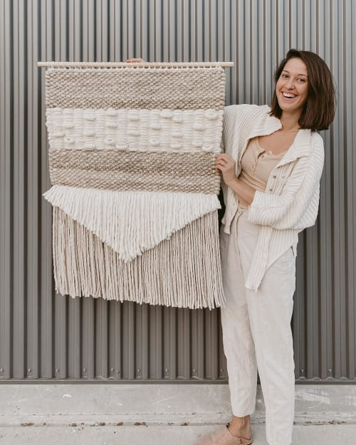 Wall Hangings by FIBROUS seen at Private Residence, Austin - Handwoven Wall Hanging