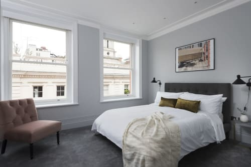 Interior Design by INTERIOR  FOX  LTD seen at Private Residence, Museum Street, London - 3 Bedroom Luxury Rental on Museum Street