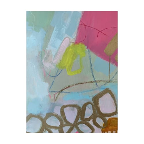 Paintings by Laurie Kwo seen at Private Residence - Diary of a Debutante