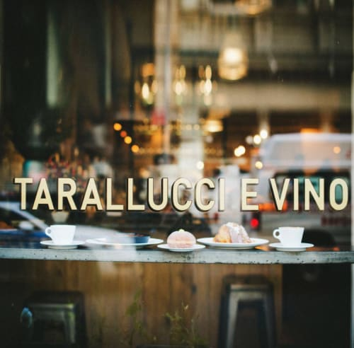 Architecture by Functional Creative Design seen at Tarallucci e Vino NoMad, New York - Tarallucci E Vino
