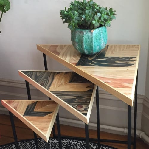 Tables by Nicole Sweeney seen at Private Residence, San Francisco - Nesting Tables