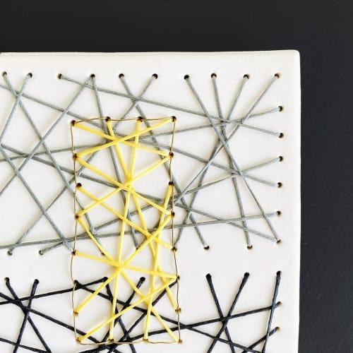 Art & Wall Decor by Elizabeth Prince Ceramics seen at Creator's Studio, Manchester - You, me, us