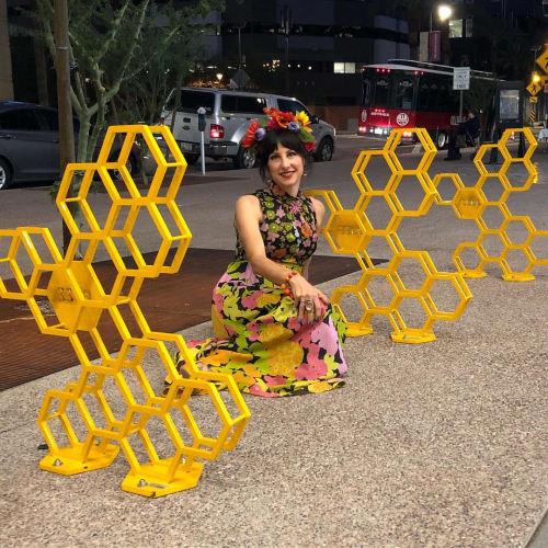 Bike Hives | Public Sculptures by Jennyfer Stratman