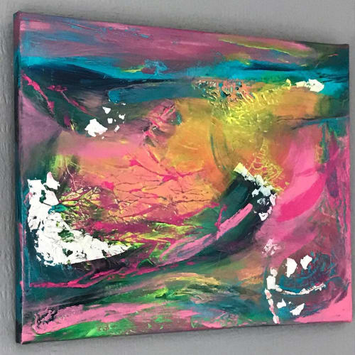Peace Underneath | Paintings by Charlotte Hall - Art