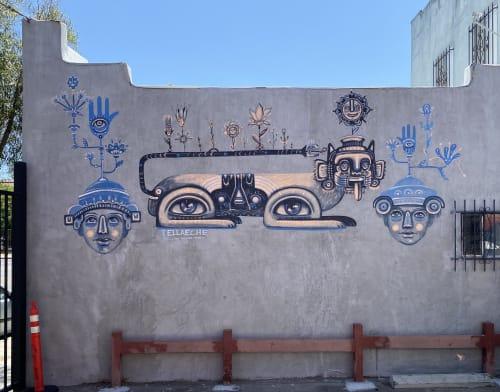 Tellaeche - Murals and Street Murals