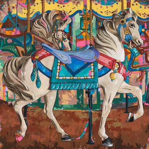 Paintings by David Palmer Studio seen at Pasadena, Pasadena - Horses #9