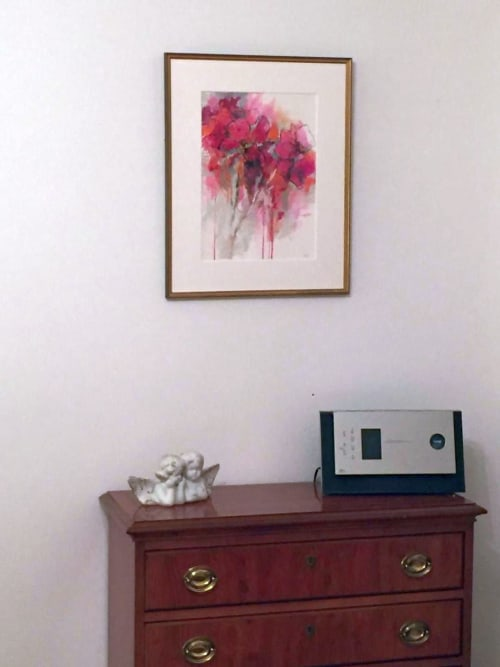 Paintings by Daggi Wallace seen at Berlin - Abstract Floral