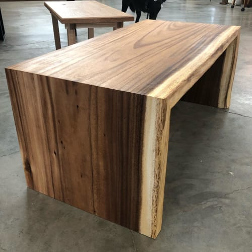 Tables by Black Rose WoodCraft seen at Portland, Portland - Acacia Waterfall Coffee Table
