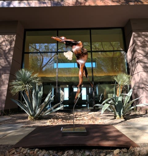 Sculptures by Dorit Schwartz seen at Wynn Hotel Las Vegas, Las Vegas - Releve