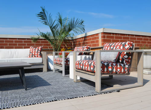 Couches & Sofas by Abodeacious seen at Private Residence, Chicago - Rustic patio furniture