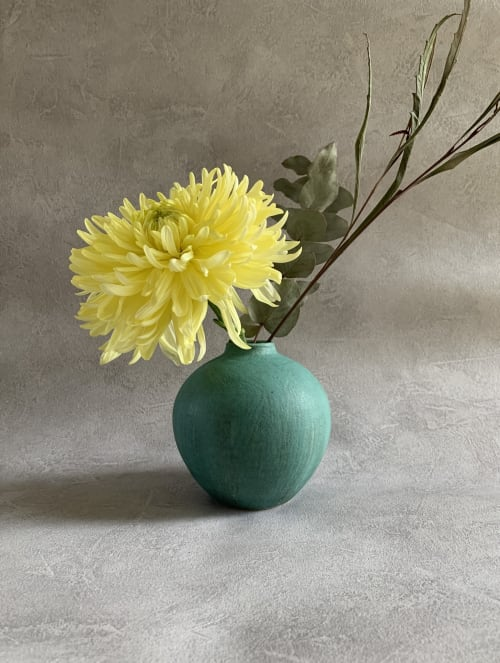 Vases & Vessels by Askew Pottery Dina Son seen at London, London - Handmade stoneware bud vase