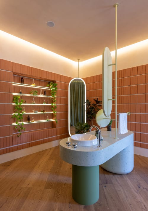 Water Fixtures by Kohler seen at Private Residence, Mexico City, Mexico City - Sink