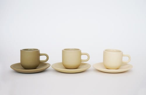 Cups by Stephanie Intelisano seen at Private Residence, Portland - Alive Espresso Cup