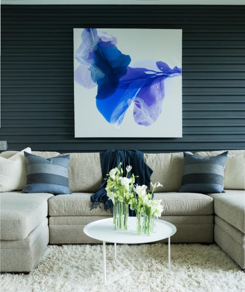 Paintings by Marta Spendowska seen at Private Residence, Bedford - An Avalanche Of Dew