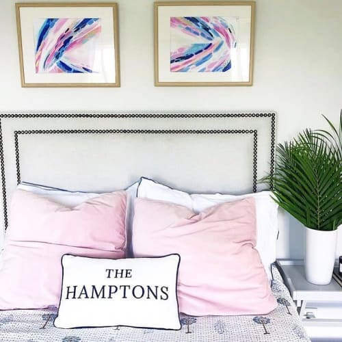 Paintings by Laura Fedorowicz seen at Private Residence, Burlington - Abstract Painting