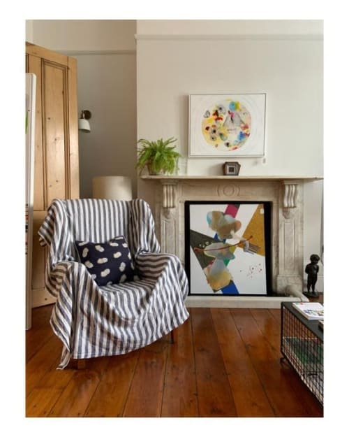 Paintings by Ursula Kellett seen at Private Residence, London - Point of Views