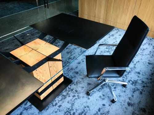 Tables by Quartertwenty seen at Umpqua Bank, Glendale - Conference Table