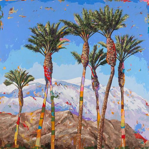 Paintings by David Palmer Studio seen at Pasadena, Pasadena - California Winter #4
