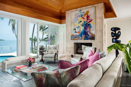 Interior Design by GIL WALSH INTERIORS at Private Residence, Key West - Ocean Reef