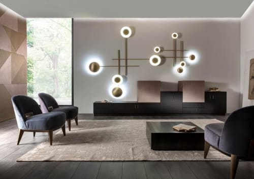 Lamps by Laurameroni Design Collection seen at Private Residence, Paris - Gaia lamp