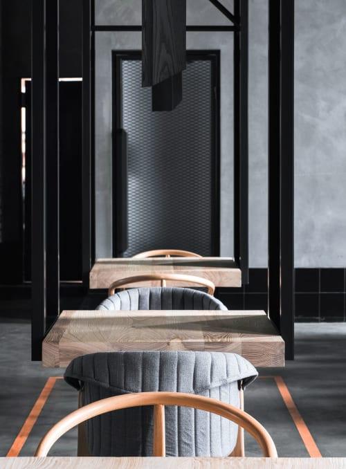 Interior Design by DA bureau seen at Ресторан северной кухни Lodbrok, Petergof - Lodbrok Restaurant