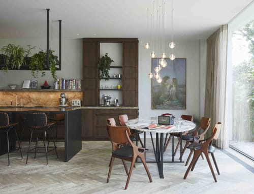 Interior Design by STUDIO JEROEN VAN ZWETSELAAR seen at Private Residence, Amsterdam - Waterfront Villa