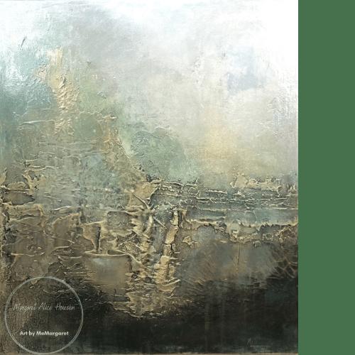 Paintings by Margaret Alice Høiesen seen at Private Residence, Stavanger - Sareptas.  SOLD