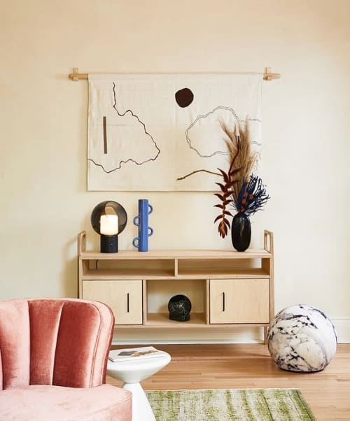 Wall Hangings by küdd:krig HOME seen at Dreamers Welcome, Brooklyn - Landscape Wall Hangings