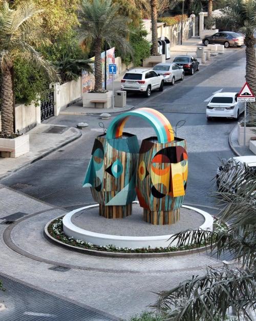 Public Sculptures by RUBEN SANCHEZ seen at Bahrain - Public sculpture
