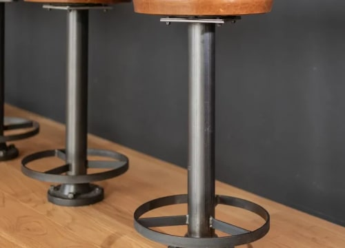 Chairs by Creoworks seen at Valve, Bellevue - Barstools