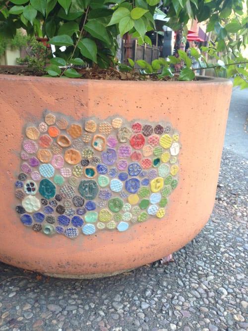 Public Mosaics by Kelly Witmer at 4th street, Downtown Santa Rosa, CA, Santa Rosa - Downtown Connect