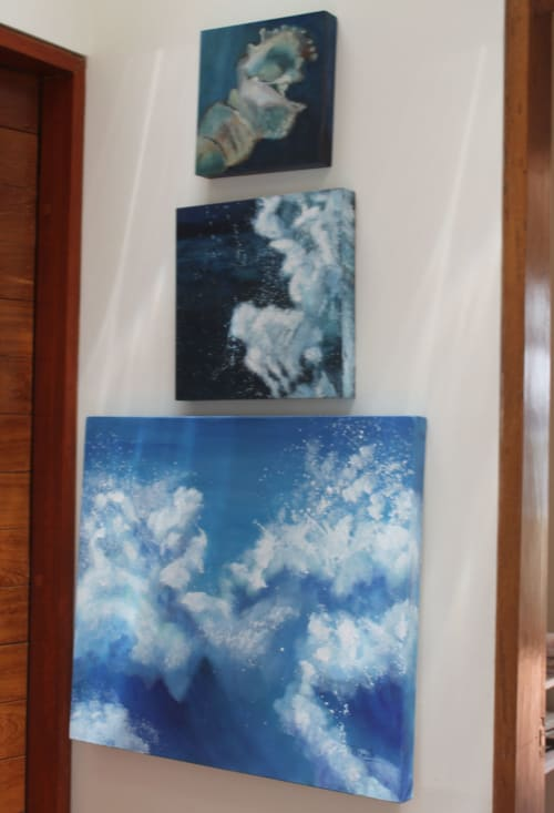 Paintings by Cecilia Arrospide at Private Residence, Miraflores, Comas, Comas - CHISPAS II