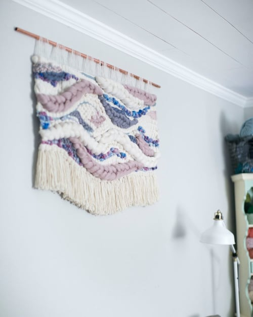Macrame Wall Hanging by MarquisWeaves seen at Private Residence, Vancouver - Woven Wall Art