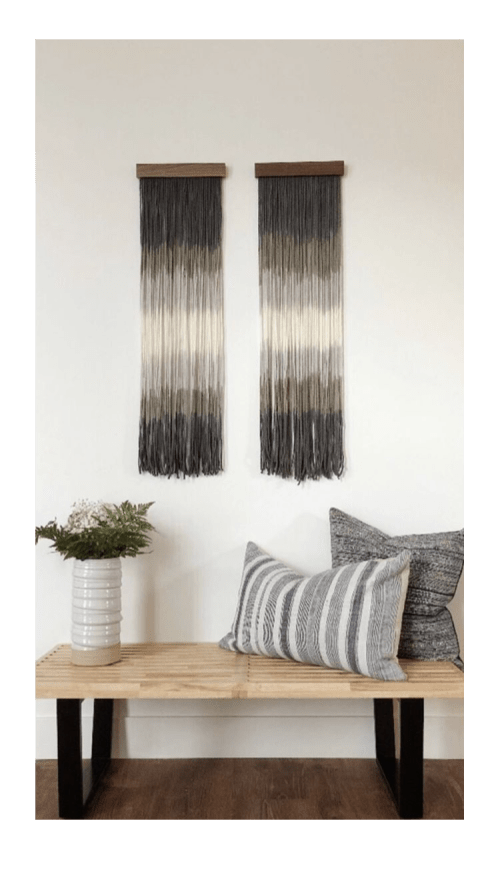 Wall Hangings by Lauren Williams seen at Private Residence, Salida - Torrent Pair