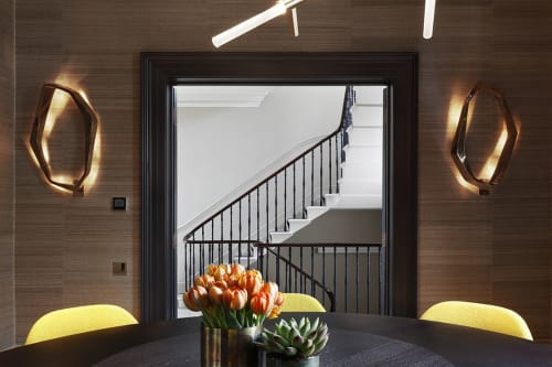 Interior Design by Carden Cunietti seen at Private Residence, London - Primrose Hill Nash House